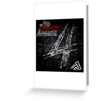 THE RED JUMPSUIT APPARATUS TOUR DATES Greeting Card