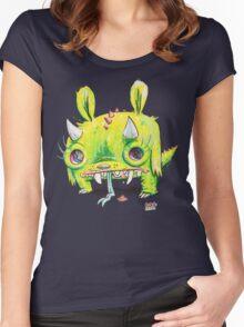 Subatomic Photon Muncher Women's Fitted Scoop T-Shirt