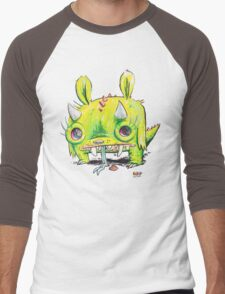 Subatomic Photon Muncher Men's Baseball ¾ T-Shirt