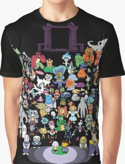 Undertale bits Graphic T-Shirt