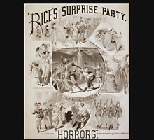 Performing Arts Posters Rices Surprise Party in the great musical extravaganza Horrors 0626 Unisex T-Shirt