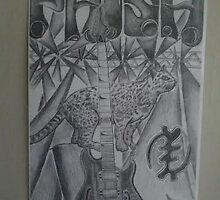 trey anastasio ocelot guitar by efauteux