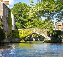 Canals of Bruges by Pravine Chester