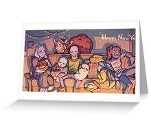 Undertale Crew Greeting Card