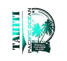 TAHITI Summer Beach Photographic Print