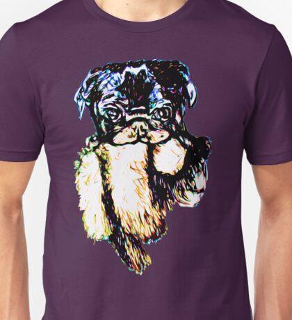 Django and his Lion Unisex T-Shirt