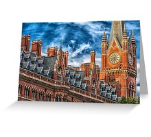Clock Tower in London England Greeting Card