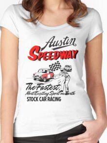 Austen speedway Women's Fitted Scoop T-Shirt