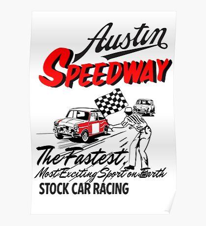 Austen speedway Poster