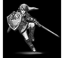 Link Sketch Drawing Photographic Print