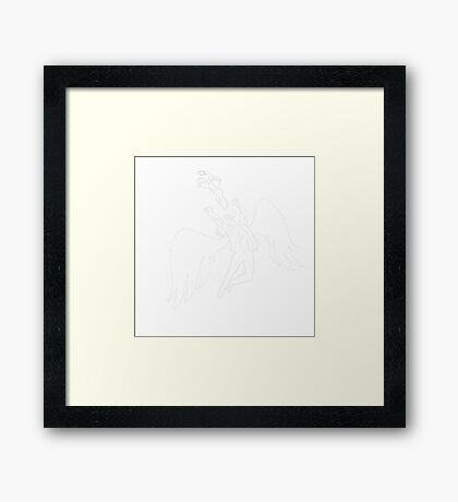 Saint Dixon Framed Print
