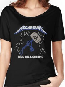 Asgardian: Ride The Lightning Women's Relaxed Fit T-Shirt