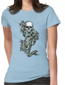 Death ink Womens Fitted T-Shirt