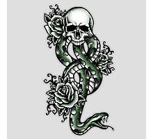 Death ink Photographic Print
