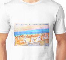 Windsurf Café. Carcavelos. Unisex T-Shirt