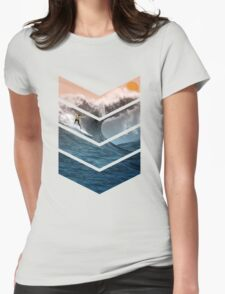 Sunrise Surfer Womens Fitted T-Shirt