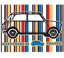 Happiness Is Mini shaped Photographic Print