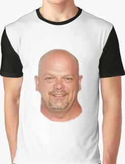 Giant Floating Rick Harrison's head Graphic T-Shirt