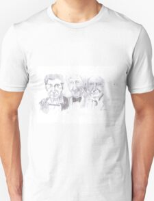 the first three doctors Unisex T-Shirt