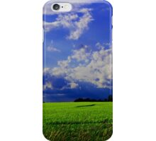 A Bright Field Day iPhone Case/Skin