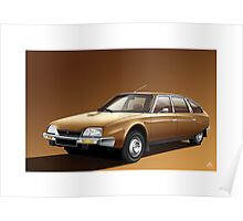 Poster artwork - Citroen CX 2000 Poster