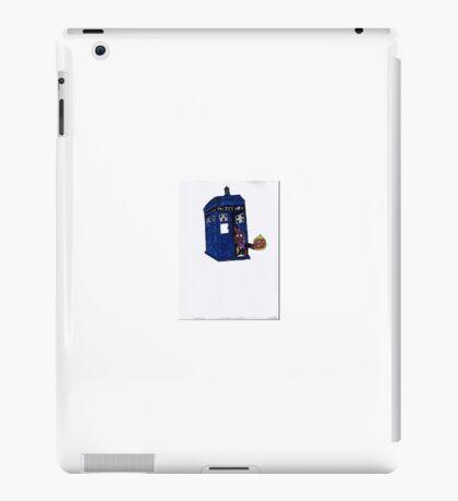 time lord bunny iPad Case/Skin