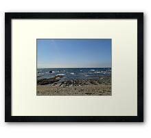 Sky Brine Framed Print