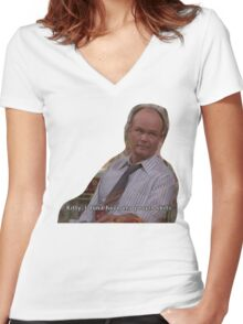 70s show Women's Fitted V-Neck T-Shirt