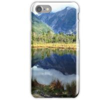 Mirror Lake at Franz Josef Glacier iPhone Case/Skin