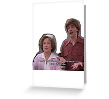 70s show Greeting Card