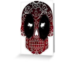 dp skull espana Greeting Card