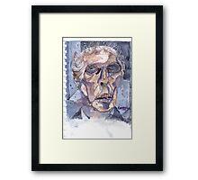 peter skull fusion heaven sent Framed Print