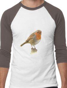 Cute Bird Men's Baseball ¾ T-Shirt