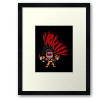 Bloody Rage Framed Print