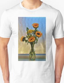 Flowers By The Window Unisex T-Shirt
