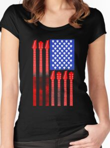 Country Music V.2 Women's Fitted Scoop T-Shirt