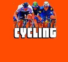 Cyclist Tee Shirt by Sachse Unisex T-Shirt