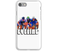 Cyclist Tee Shirt by Sachse iPhone Case/Skin