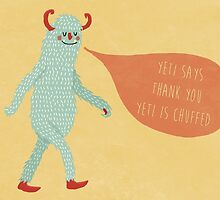 Yeti Thanks by Tess Smith-Roberts