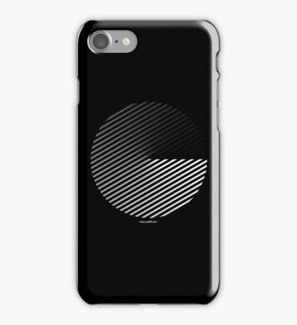 Stripes can be in a disc iPhone Case/Skin