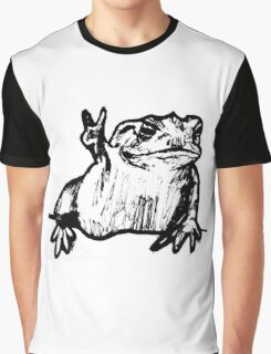 Toad of Peace Graphic T-Shirt