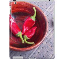 Fruits chilli hot red pepper iPad Case/Skin