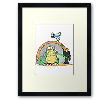Jabba is in Trouble Framed Print