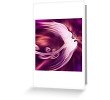 Magical phoenix bird artistic design art photo print Greeting Card