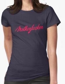 Motherfucker Logo Womens Fitted T-Shirt