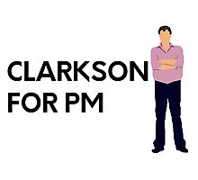 """Clarkson for PM"" original design Photographic Print"