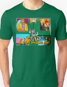 YouTube Poop: Plankton's Spa-Dinner Army T-Shirt