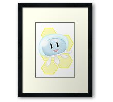 Lovable Jelly Fish - DMMD - CLEAR Framed Print