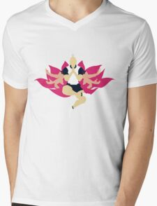 Netero Lotus Mens V-Neck T-Shirt