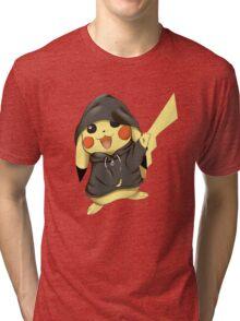 pikachu gangster RC Tri-blend T-Shirt